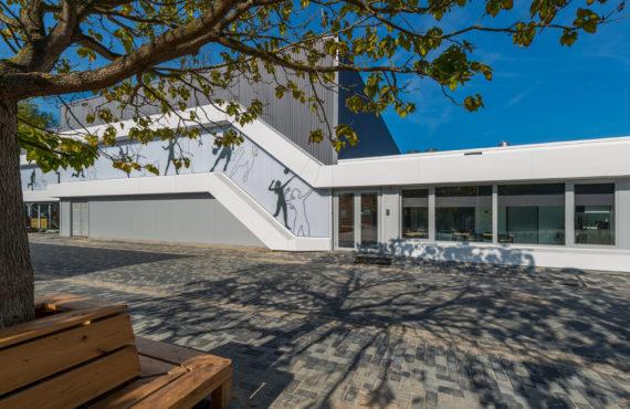 Foto van buitenzijde zijaanzicht van Sportaccommodatie Reijerpark in Ridderkerk
